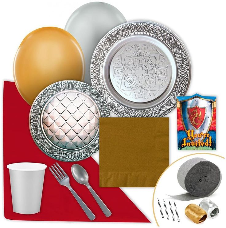 PartyBell.com - Goth Feast Silver Value #PartyPack