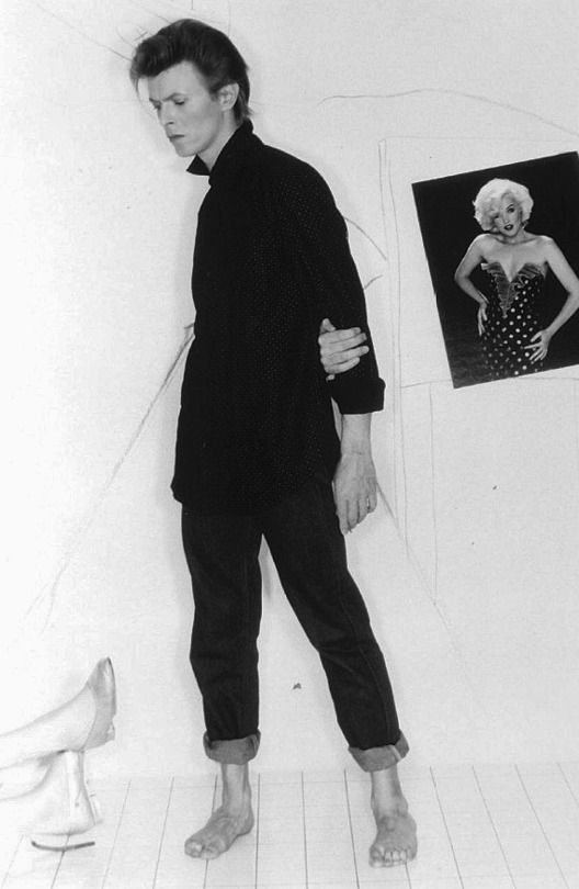 David Bowie, 1981. Photo © Greg Gorman.
