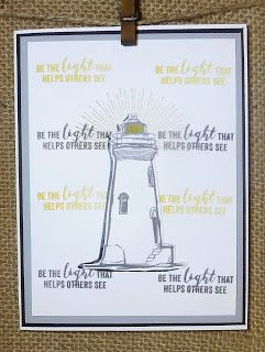 PJ's PROJECTS : Challenge #286 - Anything Goes~ Lighthouse