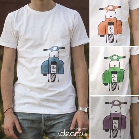 clothing with graphic and illustrations handmade by ideaME t-shirt uomo/donna e canotte donna con grafiche ed illustrazioni disegnate a mano da ideaME - For sale and info contact us on fb: https://www.facebook.com/progettoideaME?fref=ts or on info.ideame@gmail.com