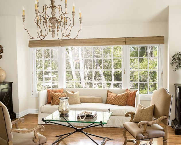 12 best window treatments images on pinterest window for Smith and noble bamboo shades