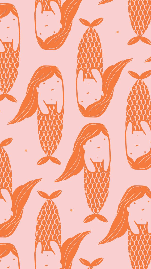 Wallpaper for you iPhone or Mac. Sooo cool. From Zana products. #mermaid