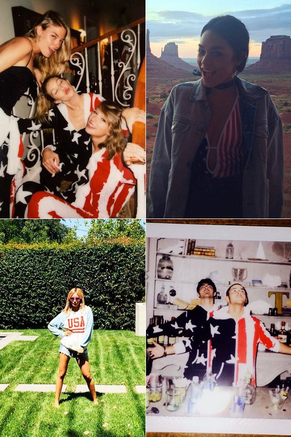 Fourth Of July: Taylor Swift & More Stars Celebrate — Pics