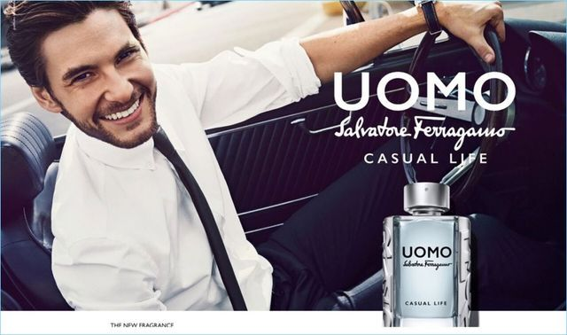 Ben Barnes Reunites with Salvatore Ferragamo for Uomo Casual Life Fragrance Campaign
