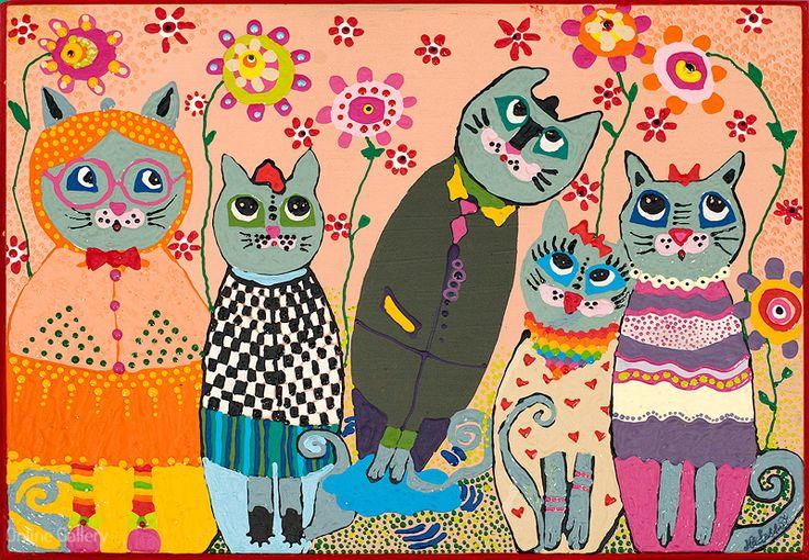 Masuta Feline | Online Gallery - Galerie online de arta, handmade si obiecte decorative unicat