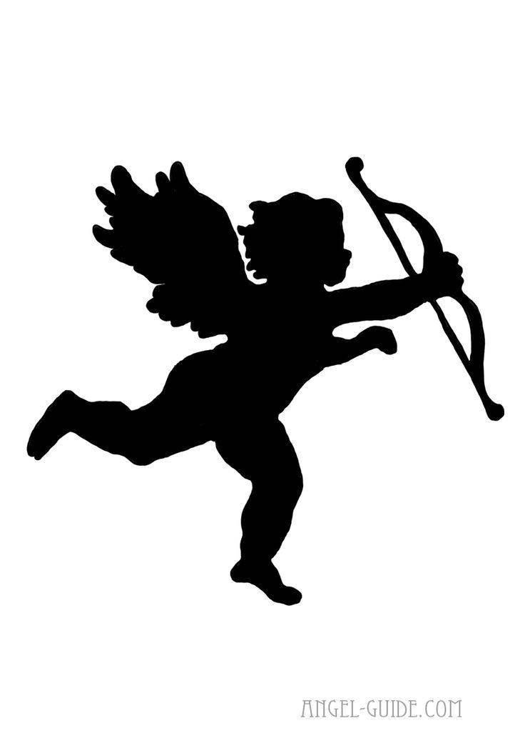 Best 25 Angel Silhouette Ideas On Pinterest