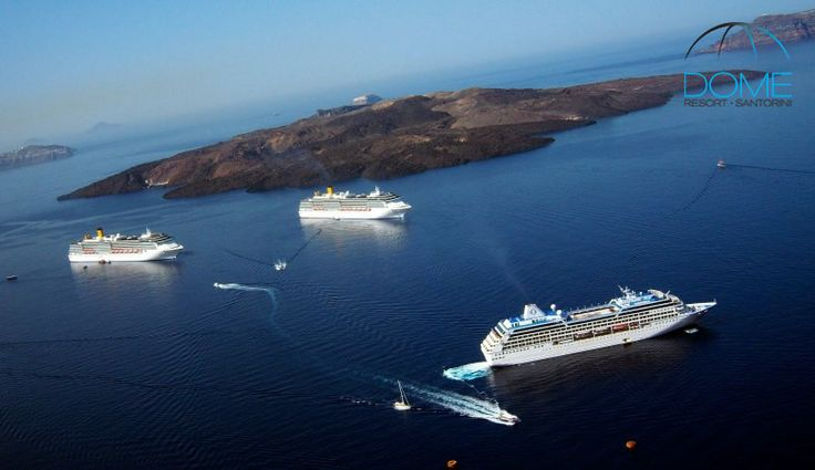 All ships leading to a single destination! More at domesantoriniresort.gr