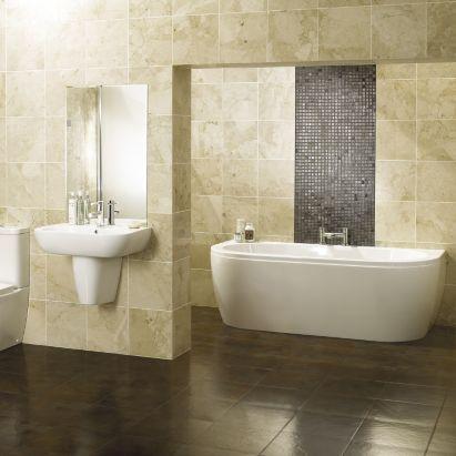 Cooke & Lewis Helena Acrylic Bath Front Panel, 0000003827758