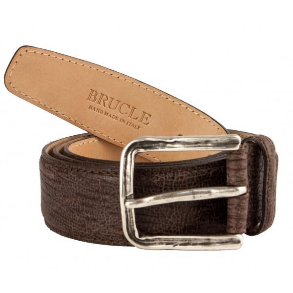 Morbida cintura in vera pelle con effetto vintage e fibbia in argento inglese con trattamento anticato. #cinture #fashion #brucle #belt #handmade #vintage