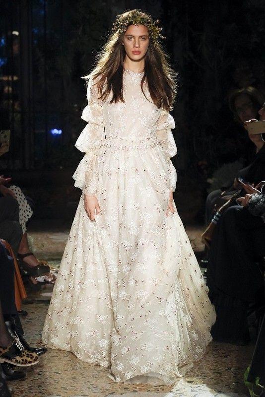 Милан: Luisa Beccaria осень-зима 2017-2018: myfashion_diary