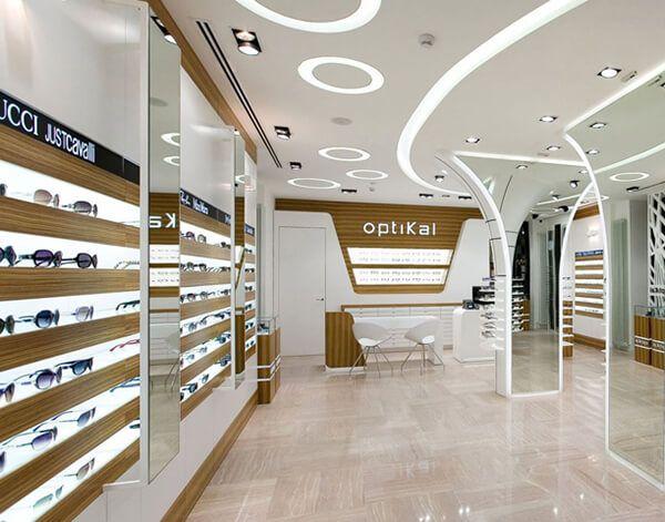 Optical Retail Store Decoration Eyewear Store Design Optical Shop Shop Design