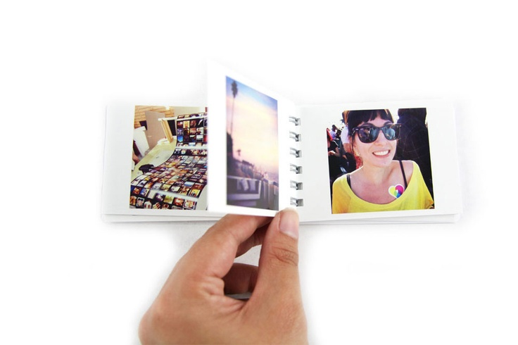INSTAGRAM images - 2x50 photos in a little spiral-bound book! $12!!