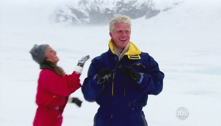 Catherine Giudici and Sean Lowe in The Bachelor Season 17, Episode 6
