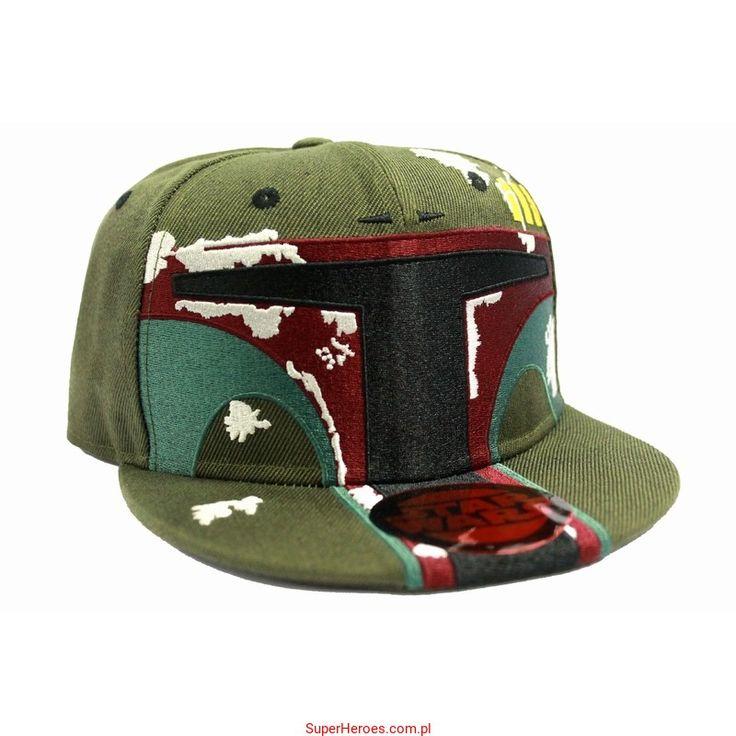 Czapka Star Wars Boba Fett z daszkiem