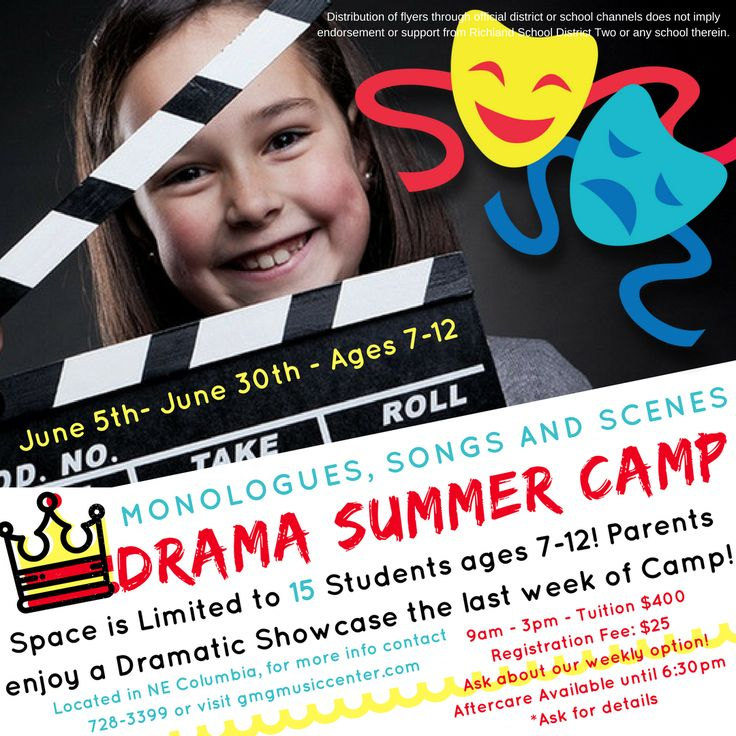 Drama Summer Camp (ages 7-12)