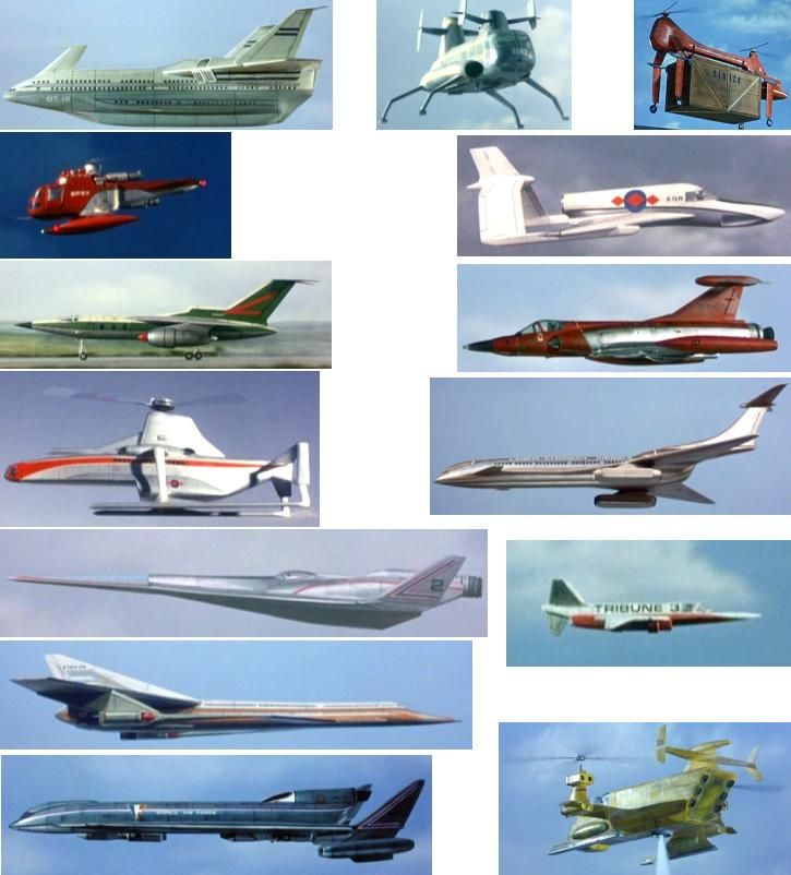 Captain Scarlet's other aircraft
