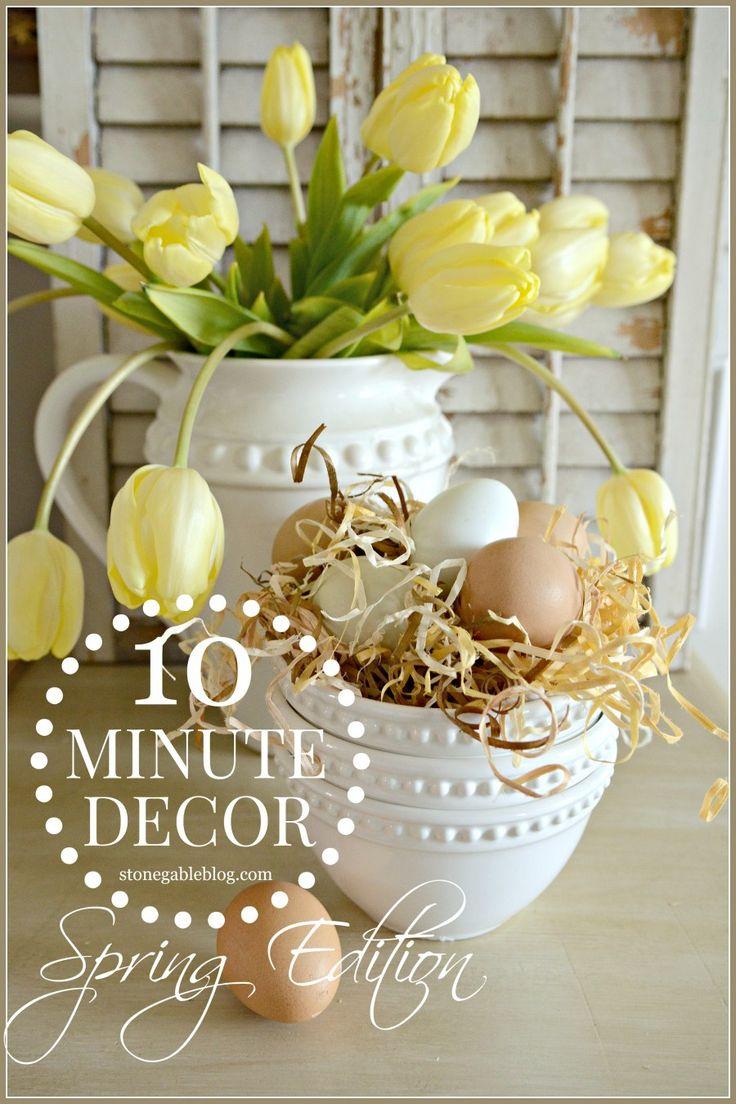 10 perces dekorációötletek, hogy ne az idő legyen az ok a kibúvóra! #husvet #dekor #gyors #10perc #otthon #disz #tescomagyarorszag