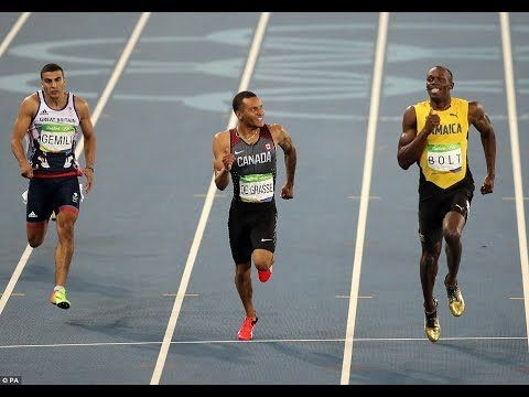 Usain Bolt progresses to 200m men's final with victory in semi-final Usain Bolt progresses to 200m men's final with victory in semi-final as he eyes 'triple triple' Read more: http://dailym.ai/2b11xpb Usain Bolt progresses to 200m men's final with victory in semi-final as he eyes 'triple triple' with Great Britain's Adam Gemili to join him Usain Bolt captured the gold for the 100m at the Rio Games after similar success in London and Beijing The Jamaican has also won the 200m men's final and…