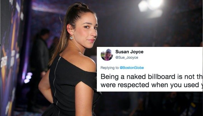 Aly Raisman Is Getting Shamed For Posing Nude In 'Sports Illustrated's #MeToo Issue
