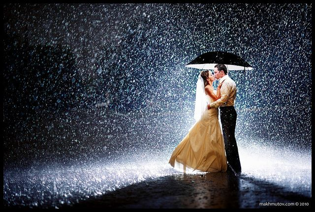 Best kisses are in the rain!