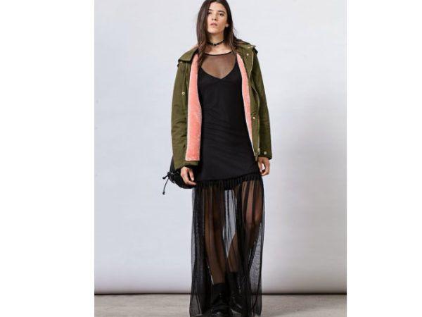 Vestidos Stradivarius | Vestidos largos, cortos y de colores Invierno 2018 - Tendenzias.com