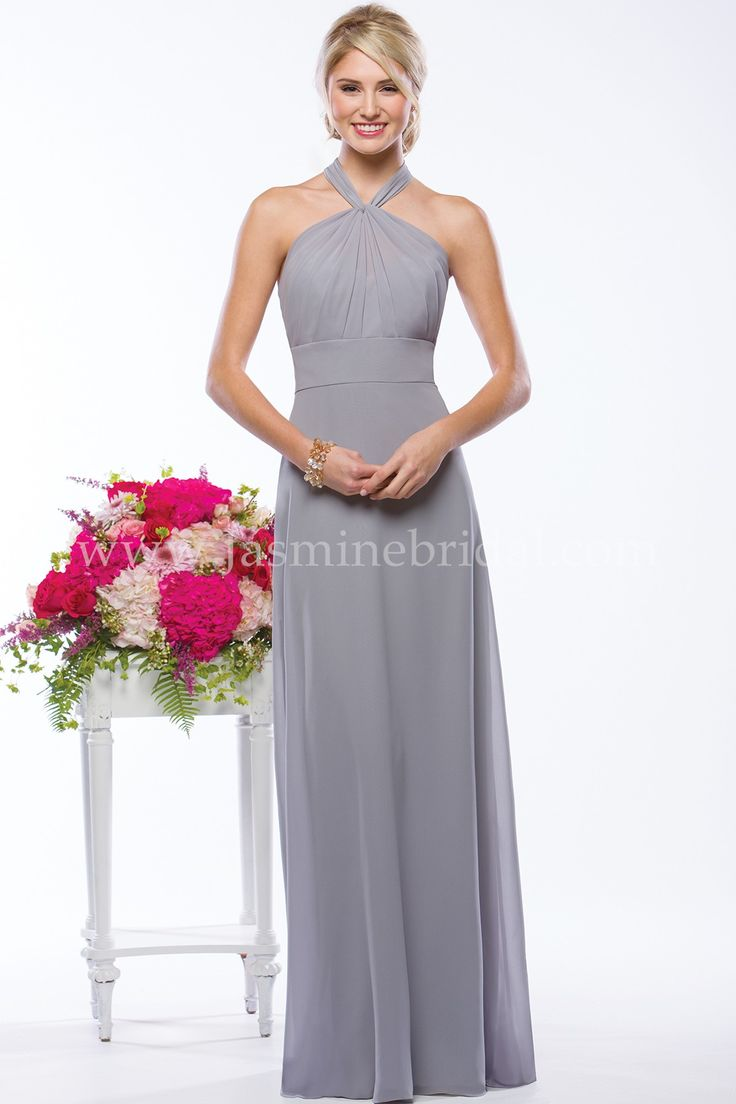 57 best fall 2015 bridesmaids images on pinterest jasmine bridal bridesmaids style your bridesmaids will shimmer and shine in this simple and versatile georgette bridesmaid dress the dress has a floor length ombrellifo Choice Image