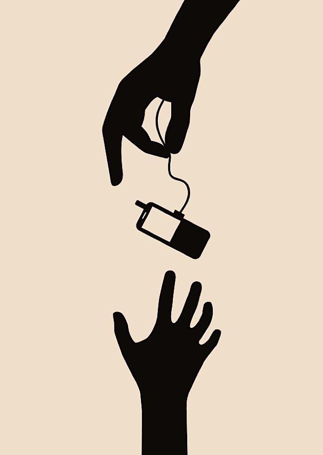 Politische Plakate von Wyn Tiedmers: Kontroverse Themen in einfachen Motiven