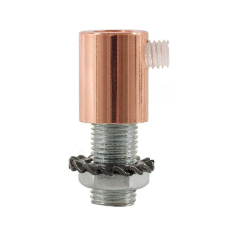 Comprar | Kit de prisionero metálico color cobre | Prisioneros y prensas #lamparas #decoracion #iluminacion #accesorioslamparas #accesoriosiluminacion