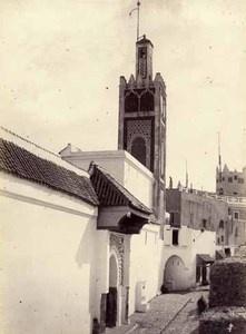 Une rue de Tétouan, Maroc, circa 1880.Tirage albuminé, 21 x 15,7 cm,  250 €