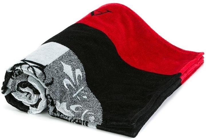 Alexander McQueen badges towel