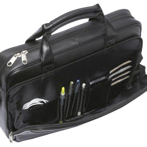 geanta laptop, serviete de dama, serviete barbatesti, genti de umar SAMSONITE http://wp.me/p2NdXY-eM via @17minute Luggage_Leather_Slim_Briefcase_3_large