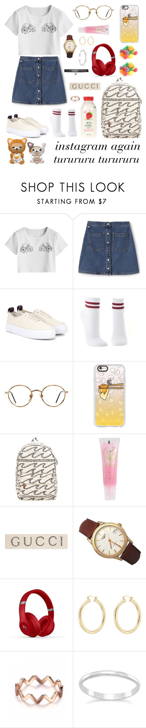 """""""All night 그렇게 시간 낭비를 하네 니 Instagram 속에서"""" by nasiaberb ❤ liked on Polyvore featuring Lacoste L!VE, Eytys, Charlotte Russe, GlassesUSA, Casetify, Billabong, MOR Cosmetics, Gucci, Longines and Isabel Marant"""