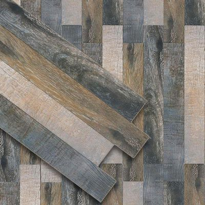 Trend Rustico 12 Quot X24 Quot Interlocking Wood Porcelain Plank