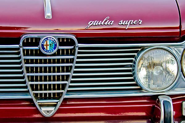 Alfa romeo Guilia Super Grille - Car Images by Jill Reger