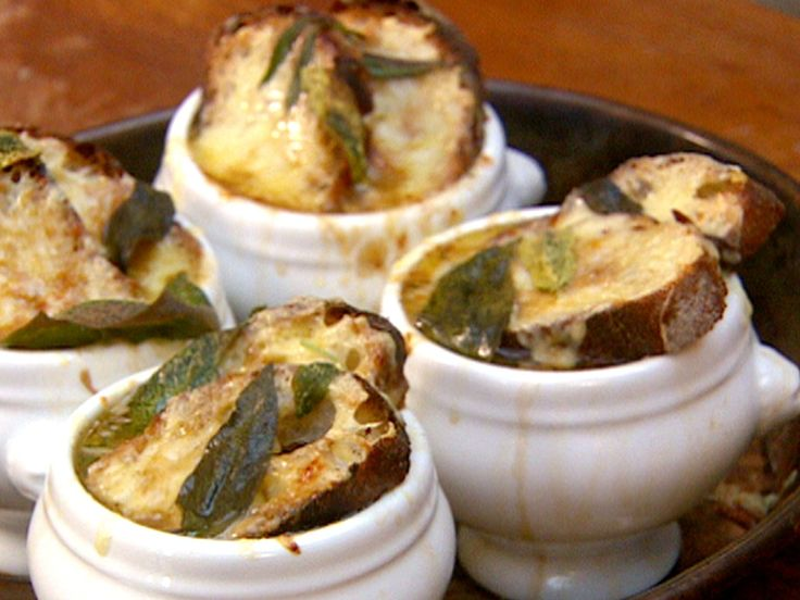 English Onion Soup with Sage and Cheddar | Jamie Oliver