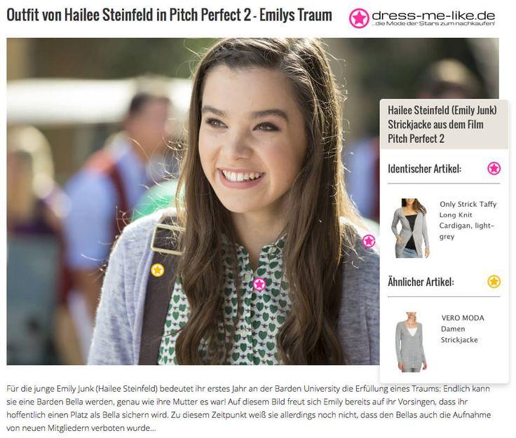 Hailee Steinfeld (Emily Junk) Only Strickjacke aus dem Film Pitch Perfect 2