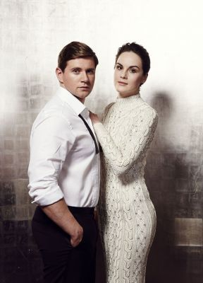 Michelle Dockery and Allen Leech - Downton Abbey