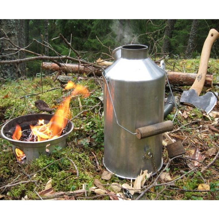 Large 'Base Camp' Kelly Kettle® Alu. (1.6ltr) Camping Kettle & Stove | Camp Equipment | Camp Cookware | Survival kit | Kelly Kettle® - Original & Best