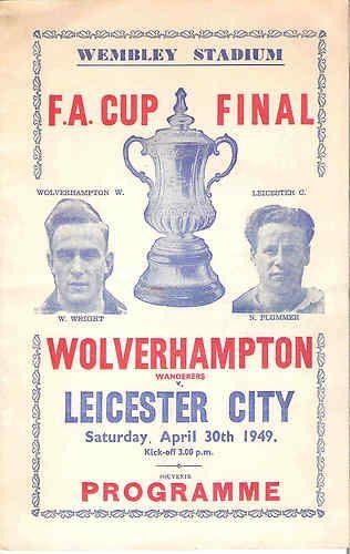 1949 Bootleg Cup Final Souvenir