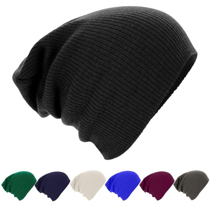 2015 новинка зимние шапки для мужчин нейтральный теплая зима вязать лыж шапочка громоздкая крышка мужчины капот d'hiver купить на AliExpress