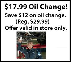 valvoline oil change coupon november 2013