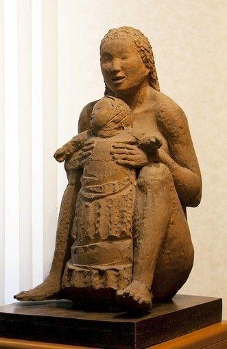 Maternità, 1931 Arturo Martini #TuscanyAgriturismoGiratola