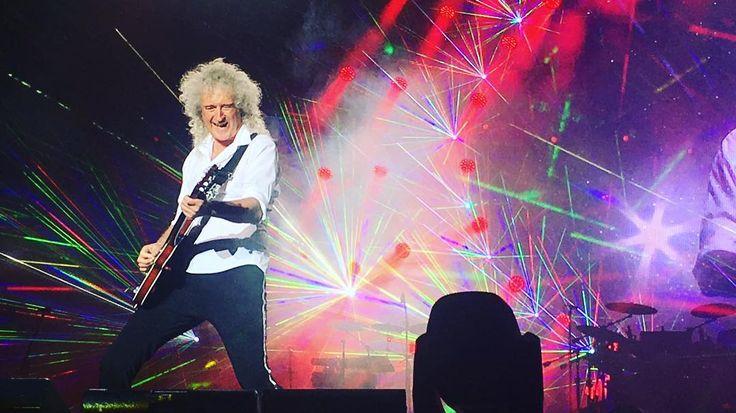 @alinaloparyova 2016.6.23  Божественный Брайан Мэй 🙏🏼 #Queen #AdamLambert #Queenbert #FreddieMercury #BrianMay