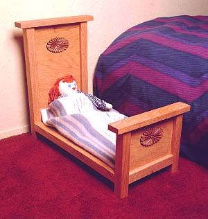Free Doll Cradle Project Plans - Woodworking Database