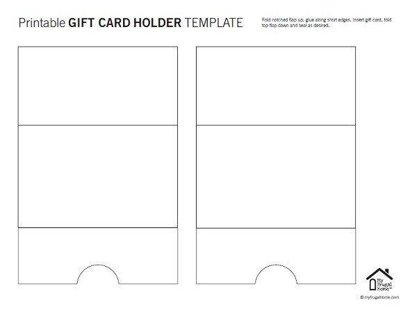 Free Gift Card Holder Pattern Download Patterns For Cards Card Inside Gift Card Holder Templ Gift Card Holder Template Gift Card Holder Printable Gift Cards