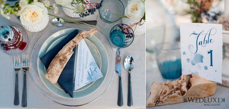 By the Sea Style Shoot. #wedluxe #wedding #menu #stationery #weddingstationery #stationerysuite #tablenumber #watercolour