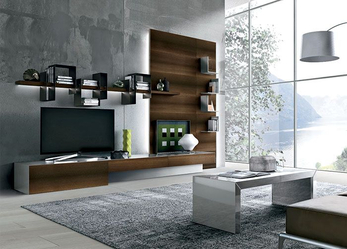 Link – A New Living Room Wall by Ronda Design - InteriorZine