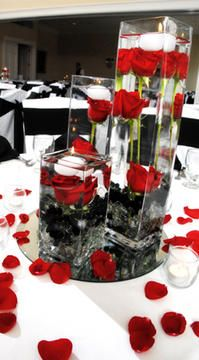 Table Centerpiece Wedding Pinterest Centerpieces And Red