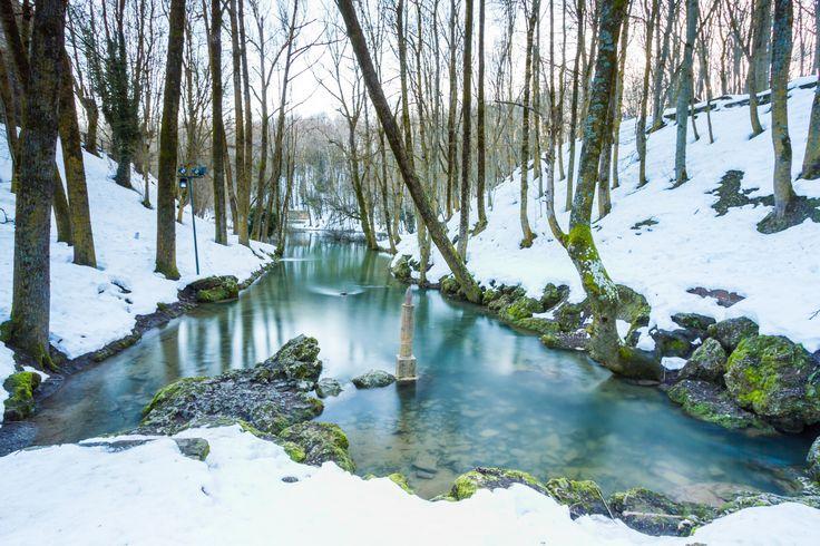 Nacimiento del río Ebro #Cantabria #Spain