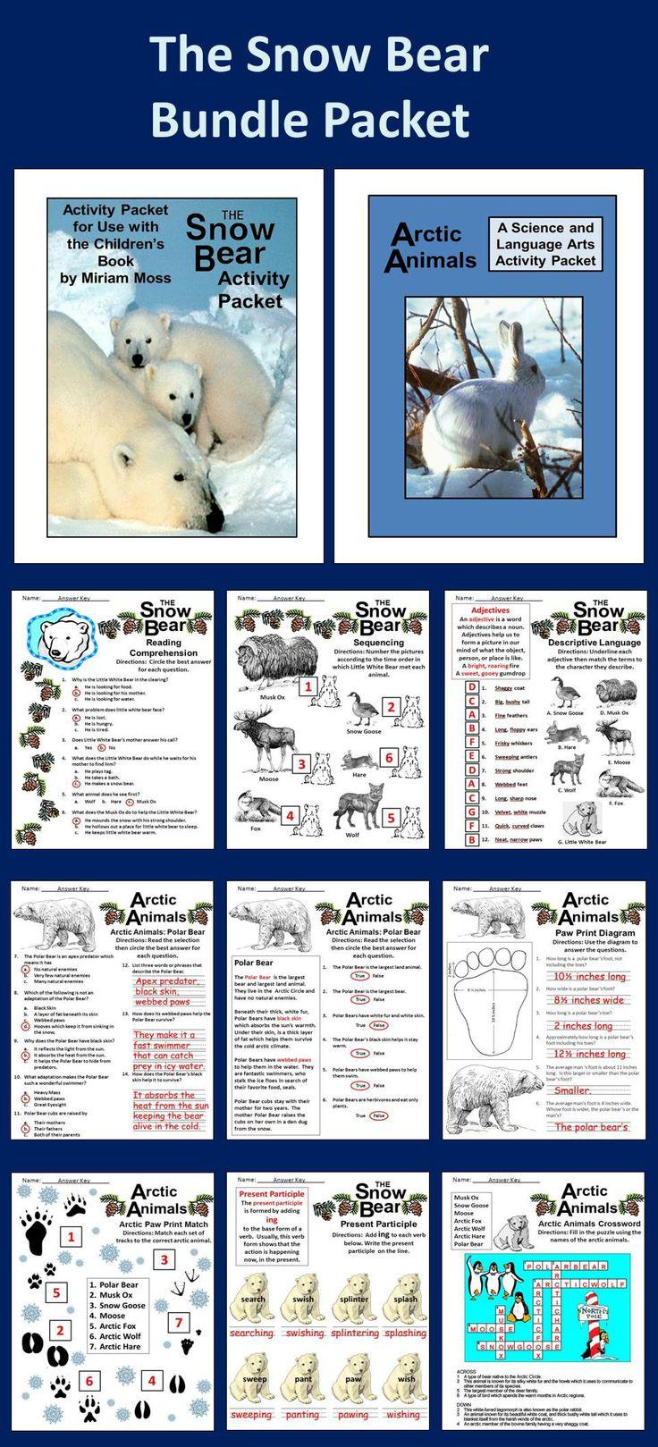 ... polar bear's print * Paw prints Sheet * Crossword * Seven Reading